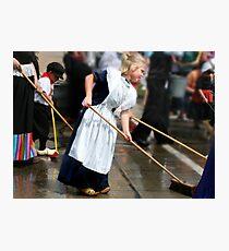 Street Sweeper Photographic Print