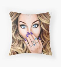 Perrie Edwards  Throw Pillow