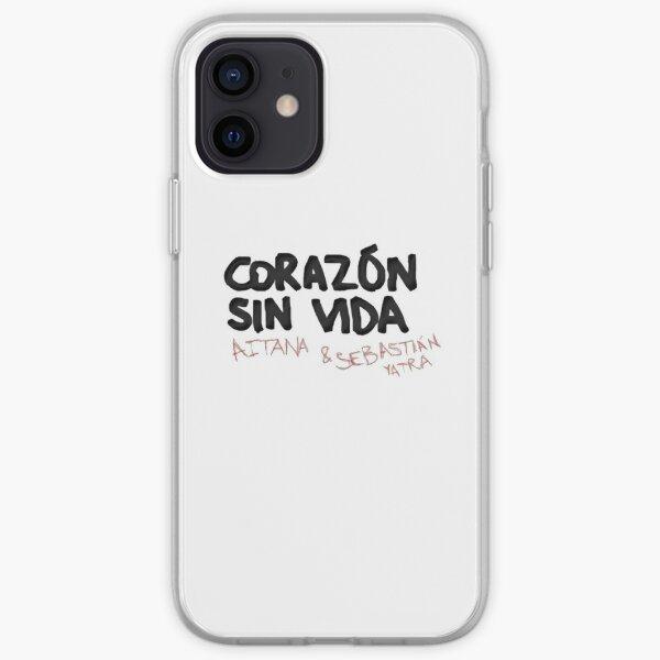 Aitana y Sebastián Yatra Corazón Sin Vida Funda blanda para iPhone