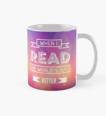 Wenn ich lese Tasse (Standard)