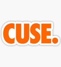 CUSE - ORANGE Sticker
