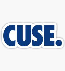 CUSE - BLUE Sticker