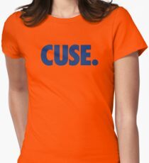 CUSE - BLUE Womens Fitted T-Shirt