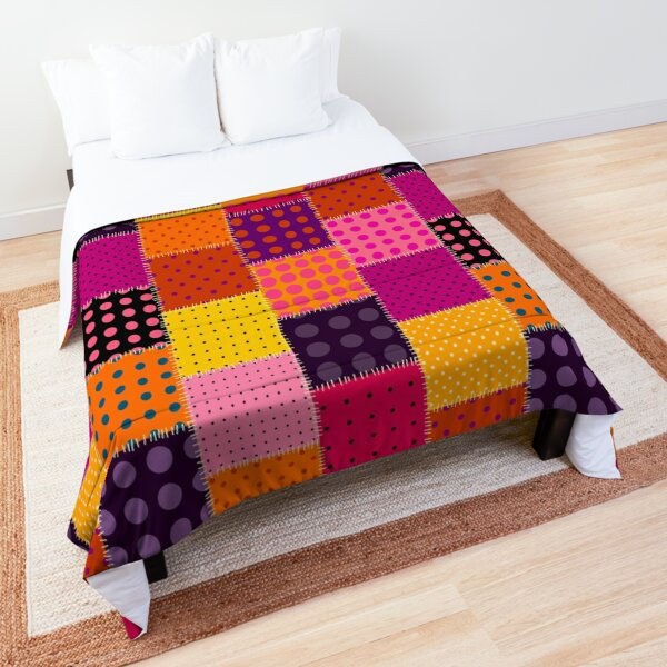 Patchwork style Comforter