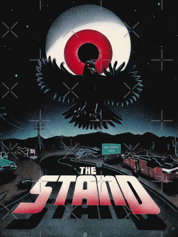 The Stand by Stephen King Original Artwork ver. 1 (Black Products Only) by HeadBlaze