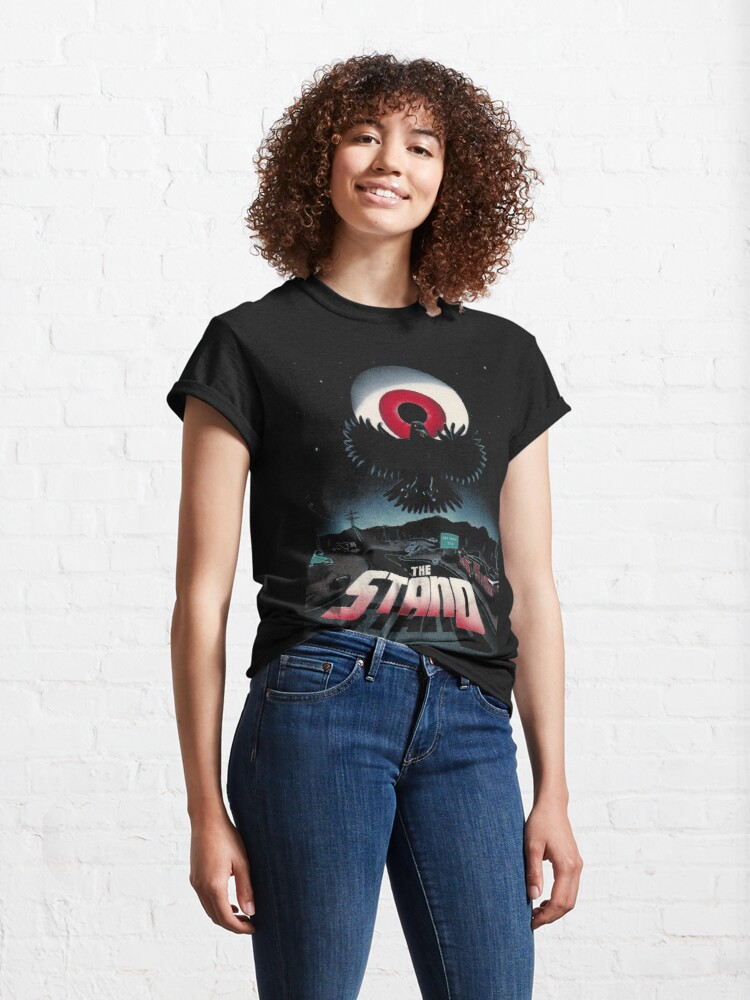 Alternate view of The Stand by Stephen King Original Artwork ver. 1 (Black Products Only) Classic T-Shirt