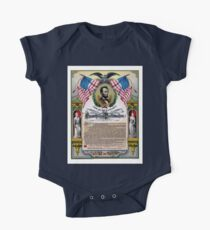 Unique Abraham Lincoln Emancipation Proclamation  One Piece - Short Sleeve