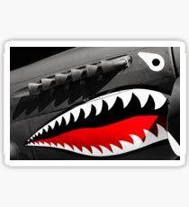 Shark Nose Art Sticker