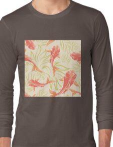 Carp Pattern Long Sleeve T-Shirt