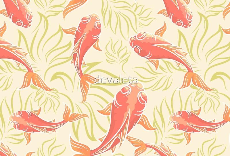 Ornamental carp hardcover journals redbubble for Ornamental carp