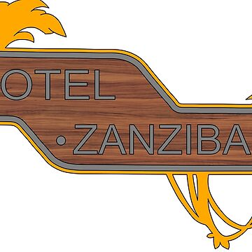Halo, Hotel Zanzibar logo by Adamasage