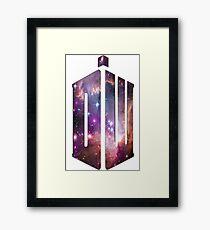 Doctor Who Nebula Framed Print