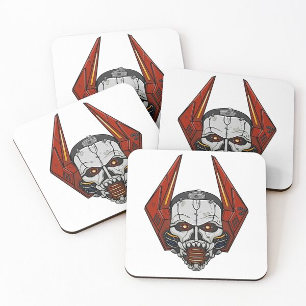Mouthpiece Coasters (Set of 4)