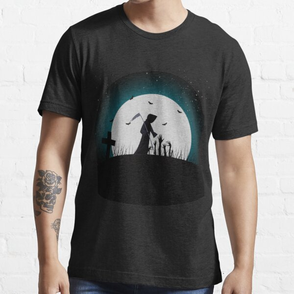 Dark Night Turns Into Evil Essential T-Shirt