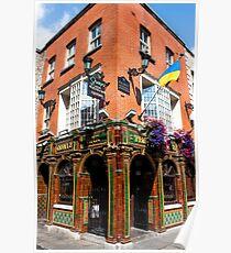 The Quays Bar - Dublin Ireland Poster