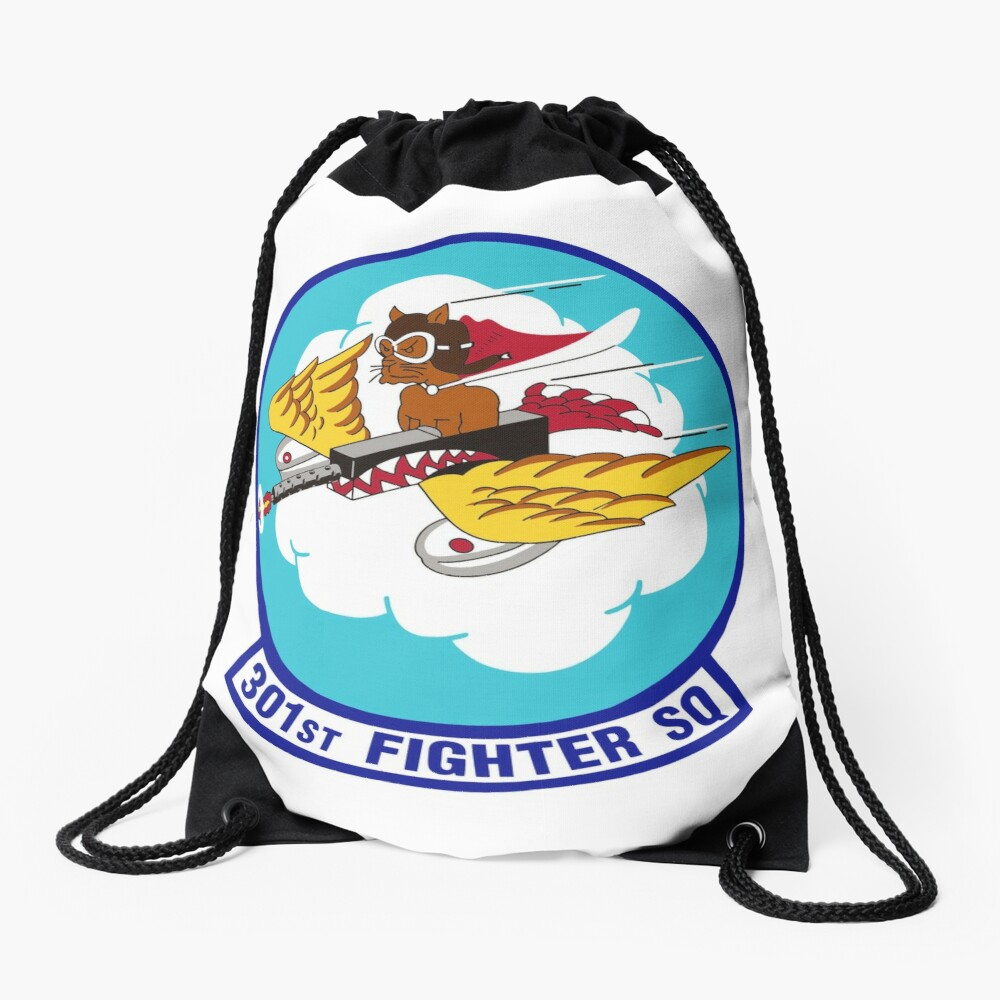 Model 39 - 301st Fighter Drawstring Bag