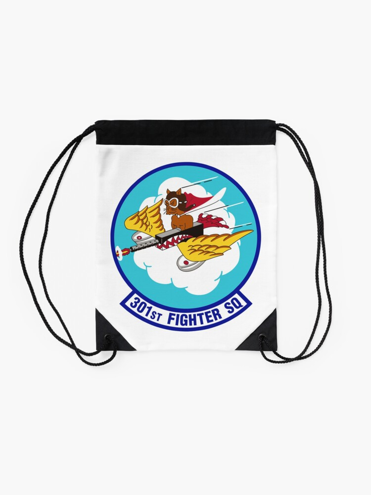 Alternate view of Model 39 - 301st Fighter Drawstring Bag
