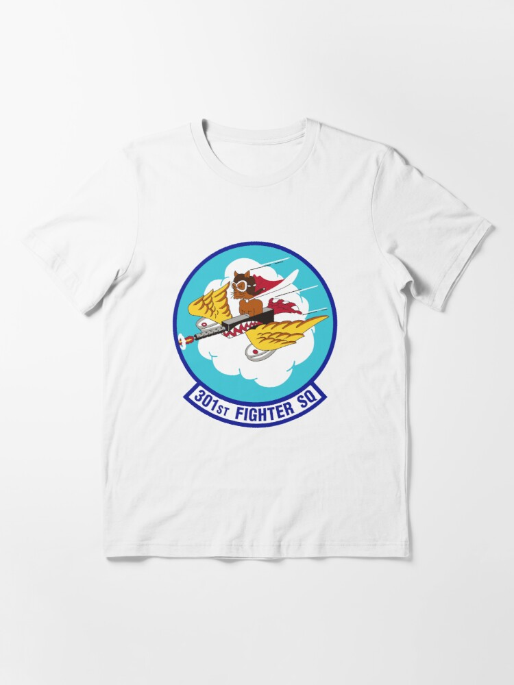 Alternate view of Model 39 - 301st Fighter Essential T-Shirt