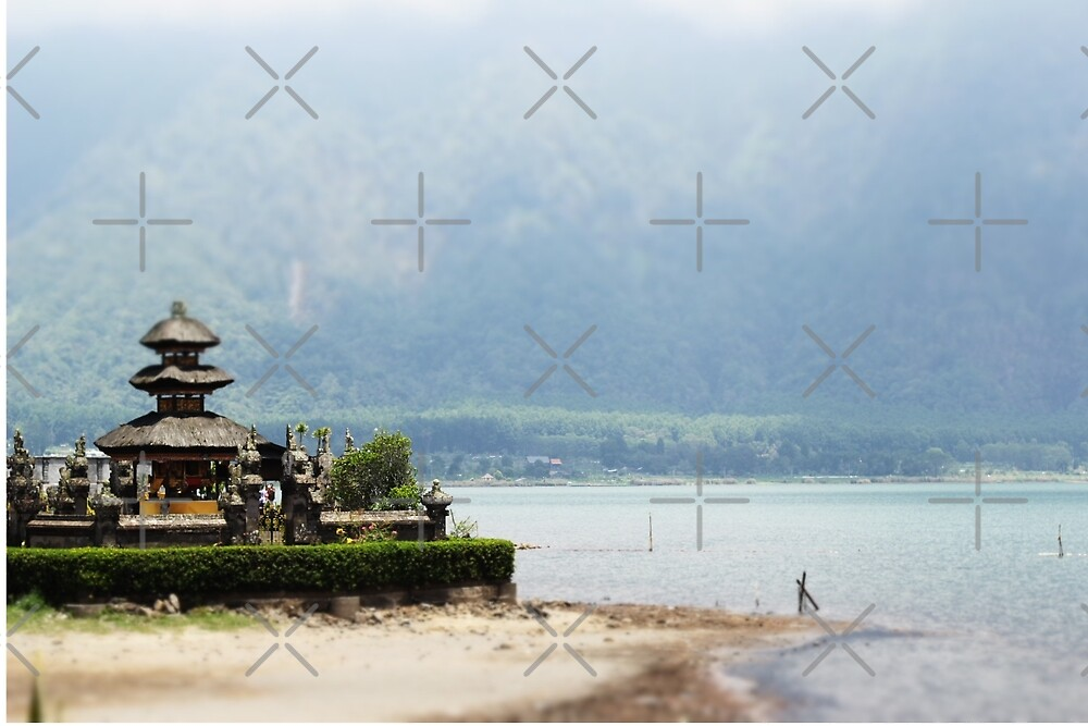A Balinese Temple by Raquel Fletcher