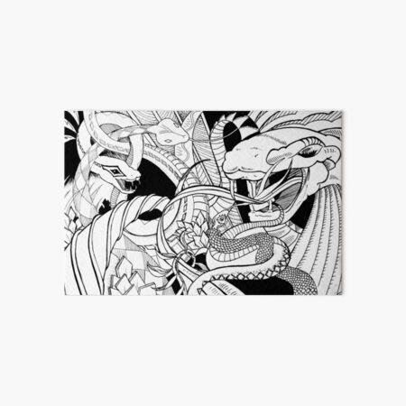 The snake's nest Art Board Print
