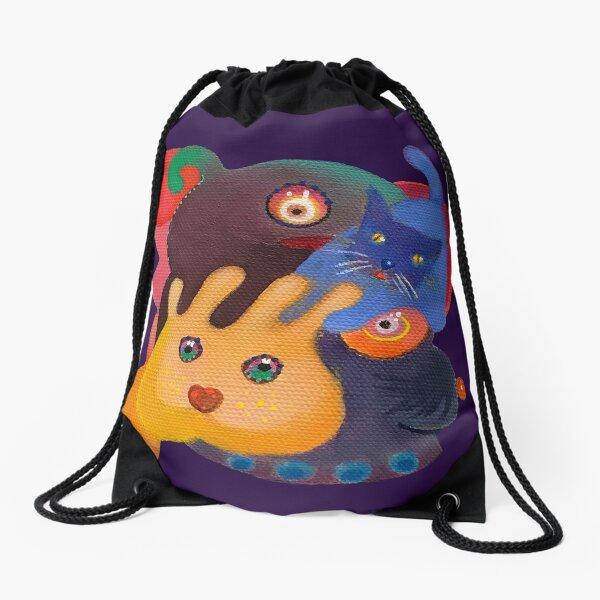 Wild Things Drawstring Bag