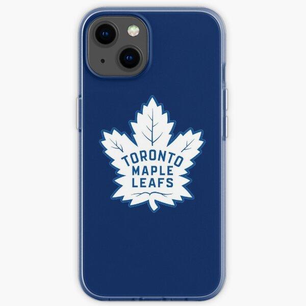 Canada Blue Leafs iPhone Soft Case