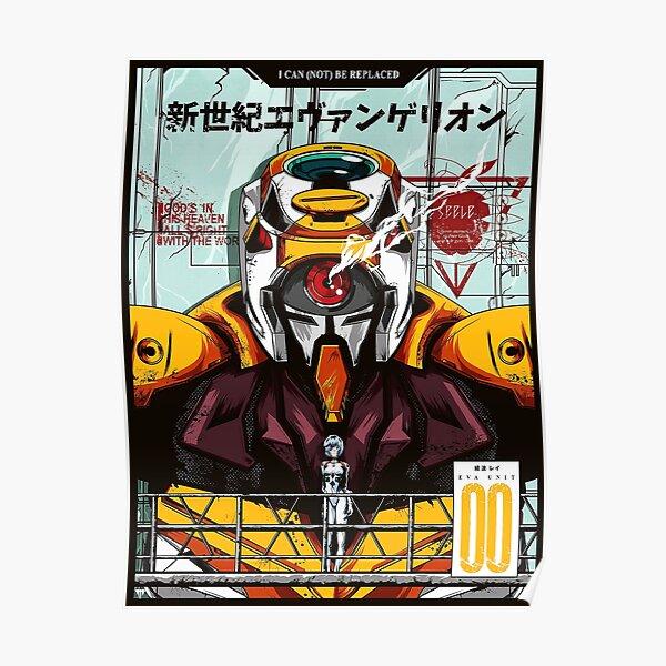 Neon Genesis Evangelion Unit-00 Poster