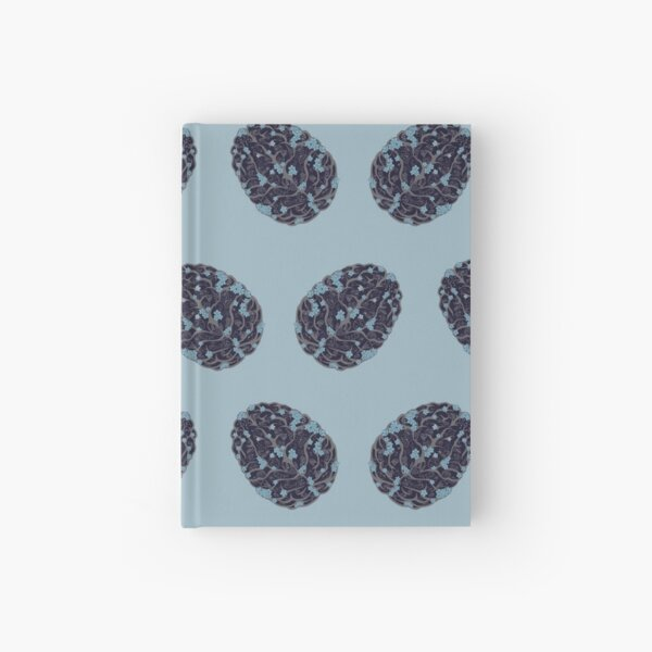Forget Me Not Pattern Hardcover Journal