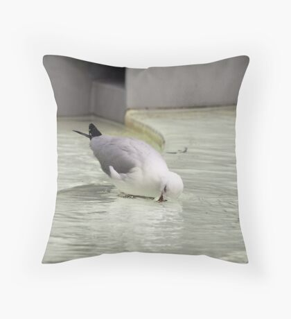 Water Therapy Throw Pillow