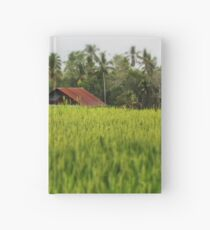 The Rice Fields Hardcover Journal