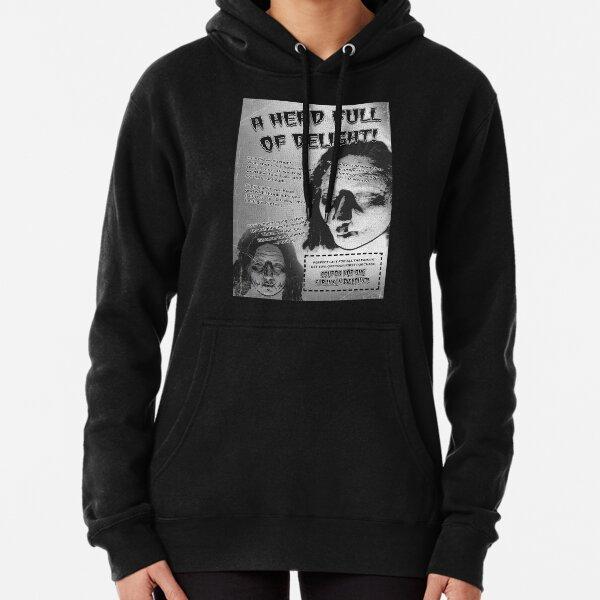Shrunken Head Badvert | Bite-sized Horror for Halloween | Vintage Horror Pullover Hoodie