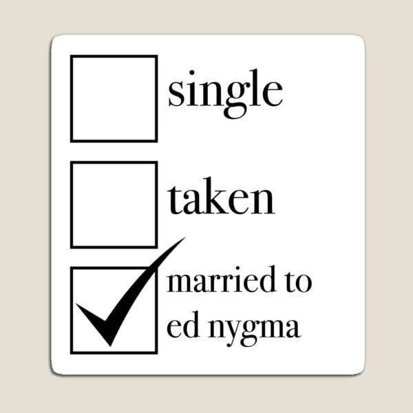 married to ed nygma Magnet