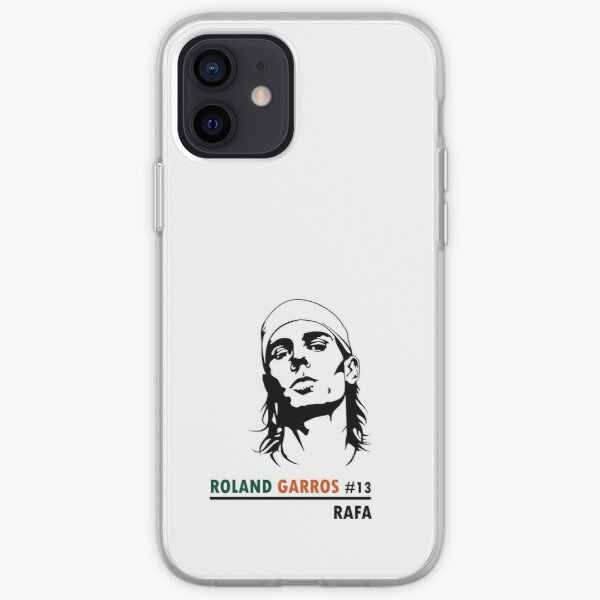 Rafael Nadal victoire Roland-Garros #13 Coque souple iPhone