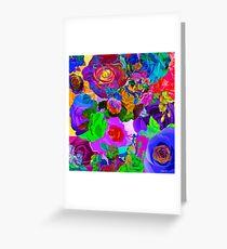 Roses Upon Roses Greeting Card