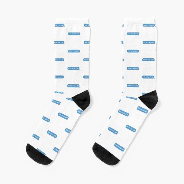 hold on i see a dilf Socks