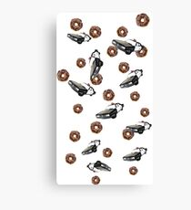 PIGS AND COPS Canvas Print