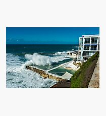 Icebergs Swimming Club Bondi Beach Photographic Print