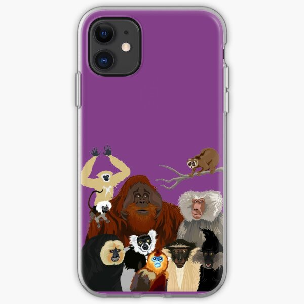 I Am Thankful For Primates iPhone Soft Case