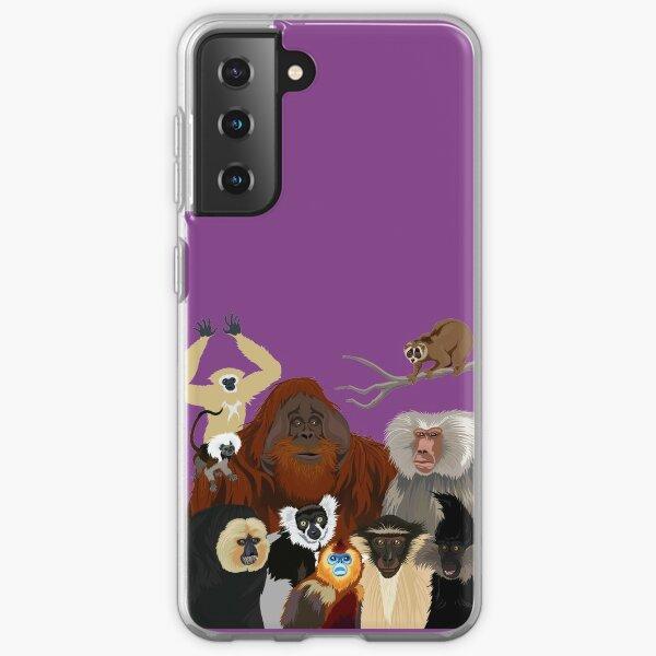 I Am Thankful For Primates Samsung Galaxy Soft Case