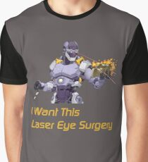 I want this laser eye surgery.  Graphic T-Shirt
