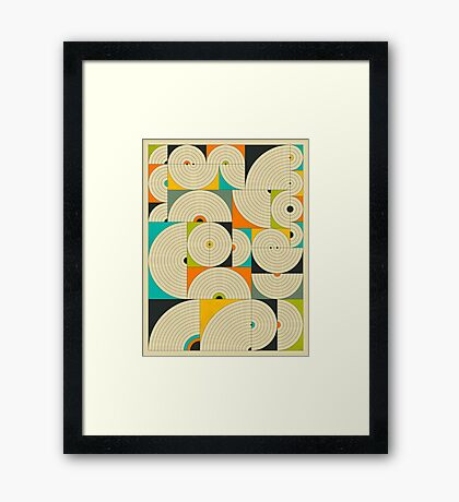 CONNECTIONS 7 Framed Print