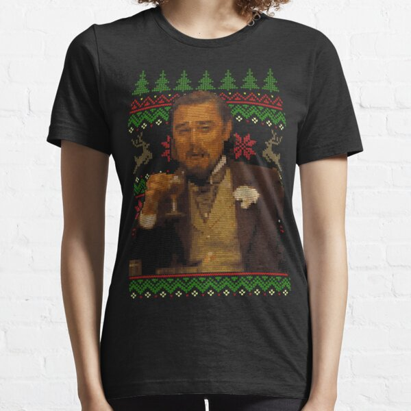 Dicaprio Drinking Meme - Ugly Sweater Essential T-Shirt
