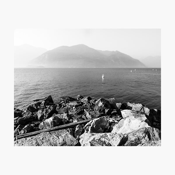 View from Porteau Cove Photographic Print