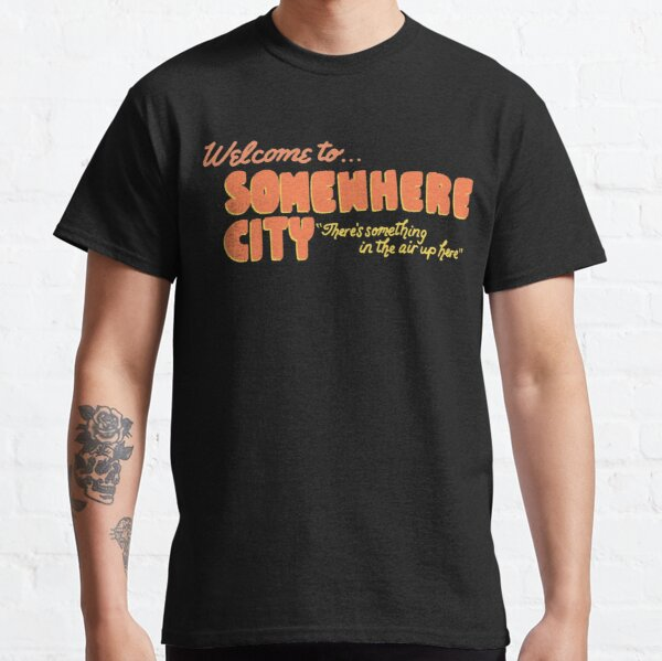 Origami Angel Welcome to Somewhere City Classic T-Shirt