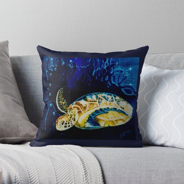 Arthurs turtle Throw Pillow