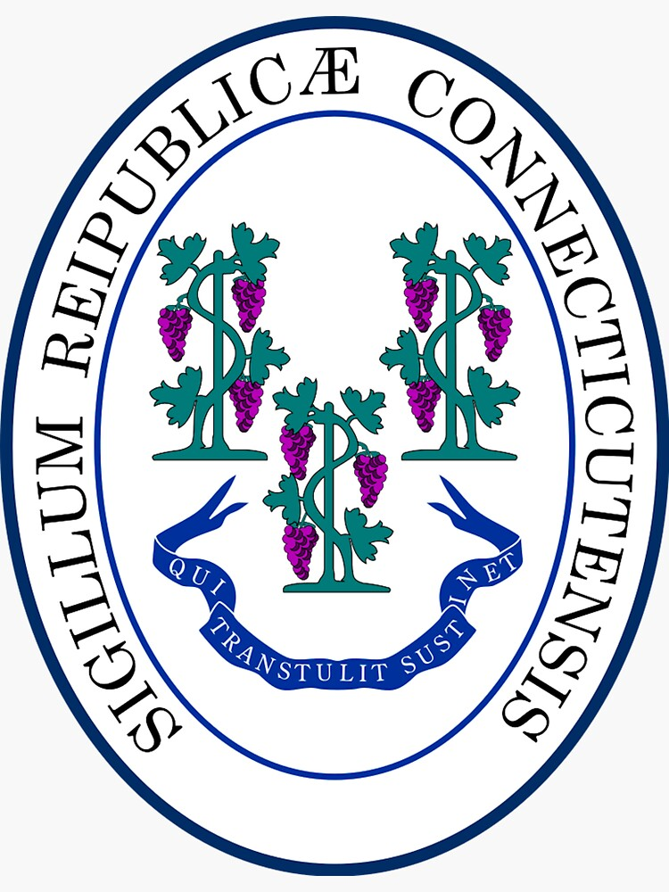 Connecticut State Great Seal by FunWithFlags