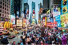 Times Square Tourists (eh) by Ray Warren