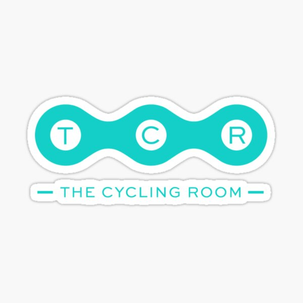 THE CYCLING ROOM Sticker
