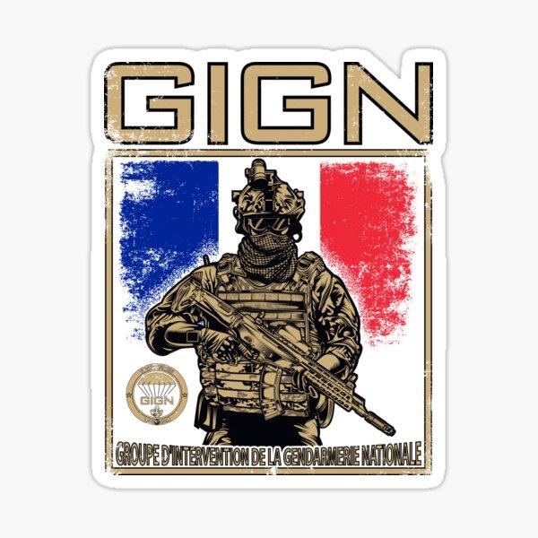 Groupe d'intervention de la gendarmerie nationale du GIGN Sticker