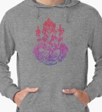 Ombre Indian Ganesh Elephant T-shirt Lightweight Hoodie